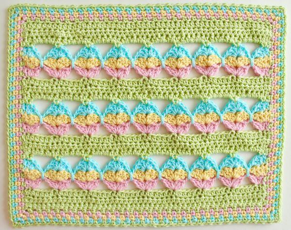 Easter Crochet Blanket