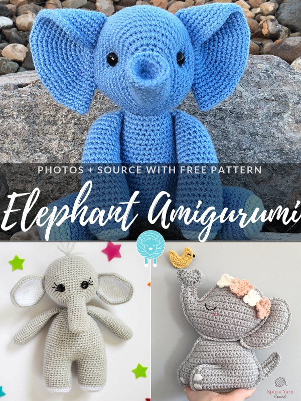 Elephant Amigurumi Free Crochet Patterns