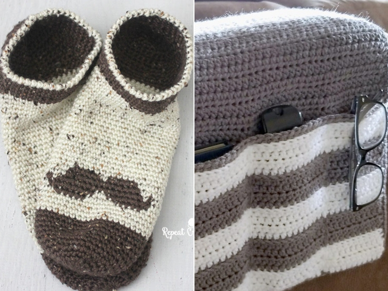 Father`s Day Gift Ideas Free Crochet Patterns