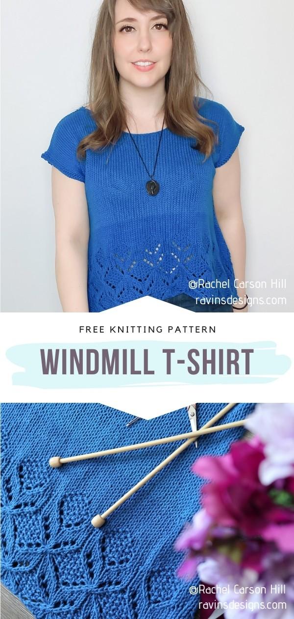 Knit T-shirt