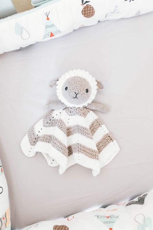Lamb Baby Lovey