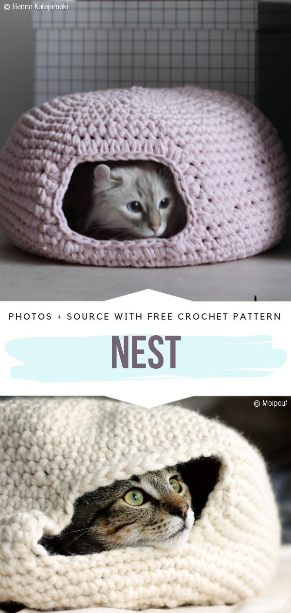 Cat Bed Nest