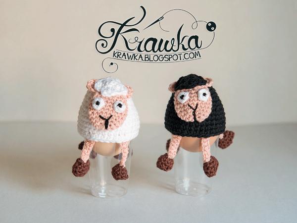 Crochet Sheep Egg Cozy