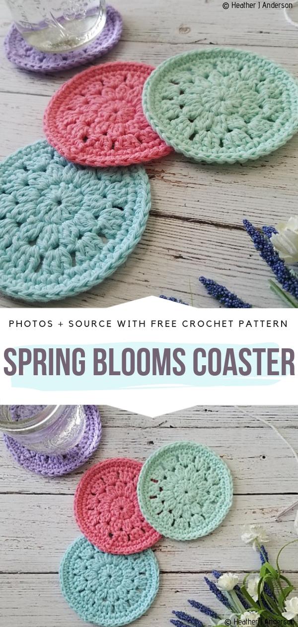 Spring Blooms Coasters
