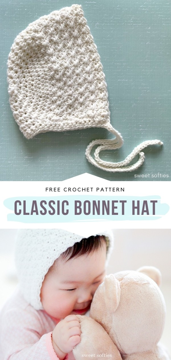 Crochet Bonnet Hat