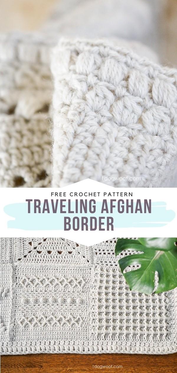 Crochet Afghan Border