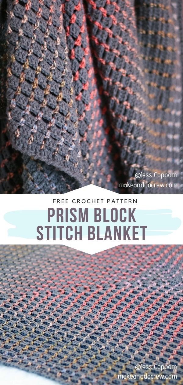 Block Stitch Blanket
