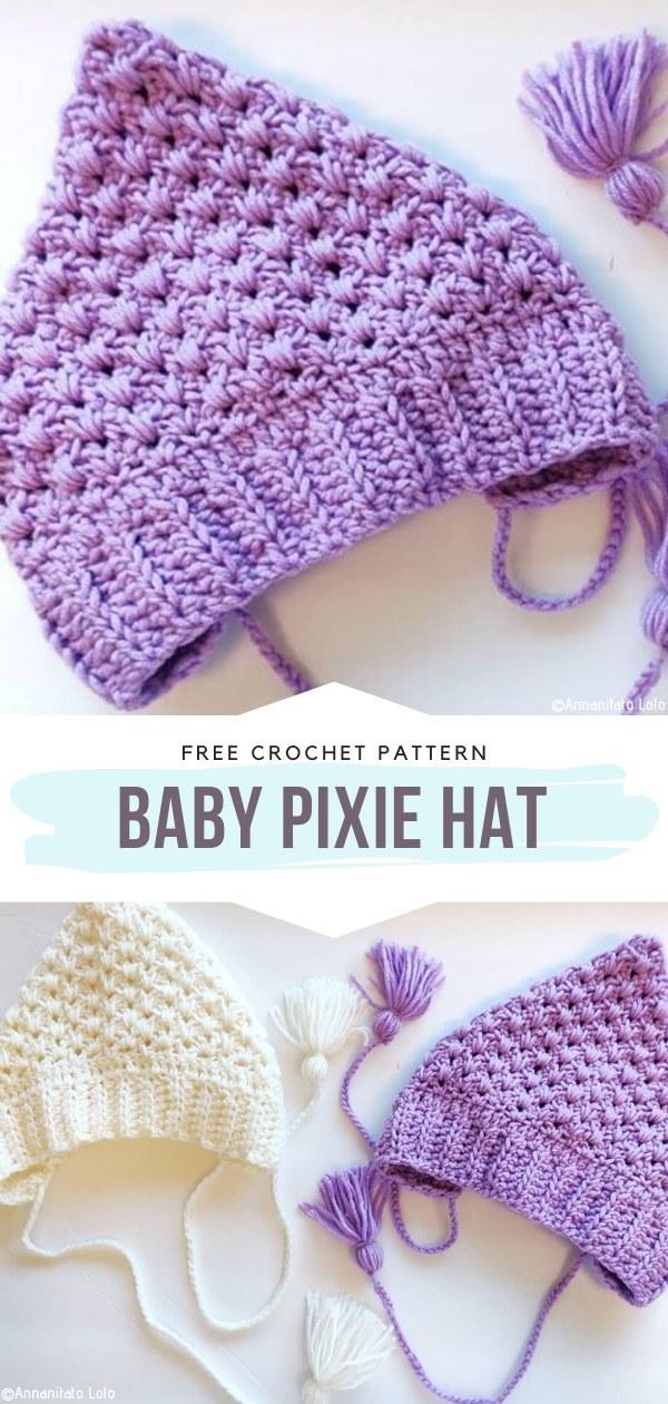 Bebek Pixie Şapka