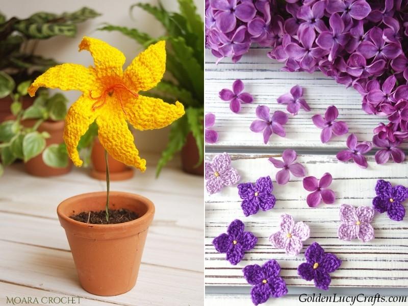 Beautiful Crochet Flowers