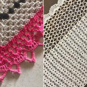 Amazing Long Shawls Free Crochet Patterns