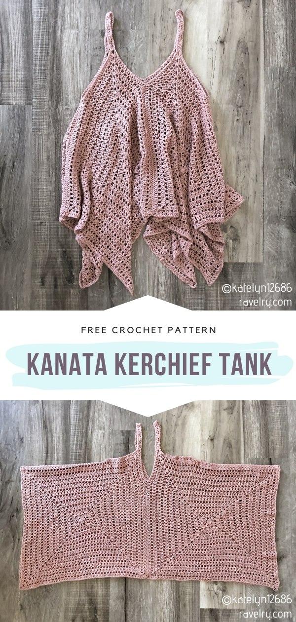 Kanata Kerchief Crochet Tank