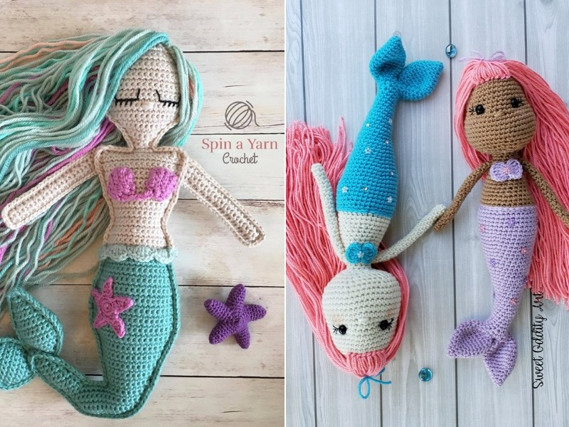 Lovely Mermaid Amigurumi