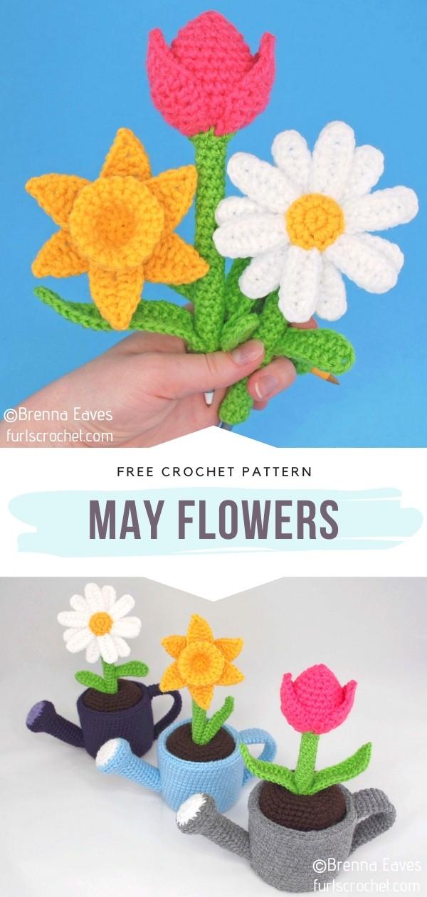 Amigurumi May Flowers