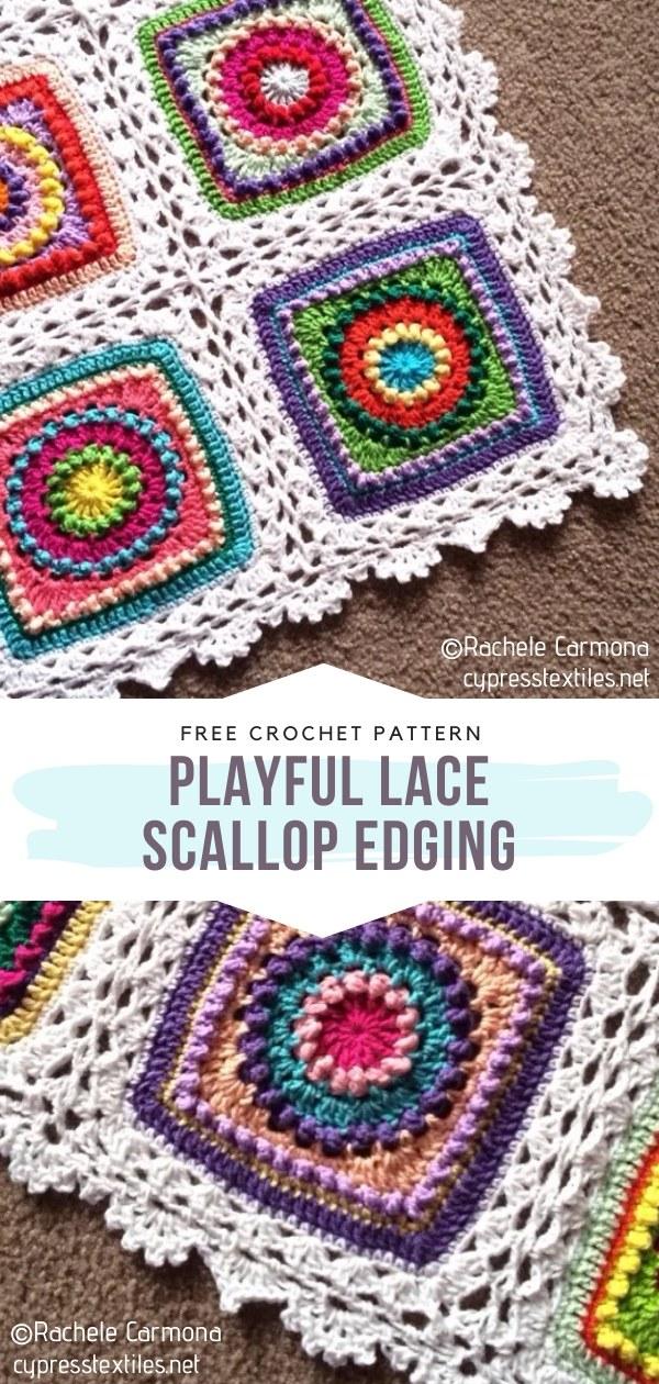 Scallop Crochet Edging