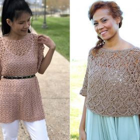 Ponchos For Spring Free Crochet Patterns