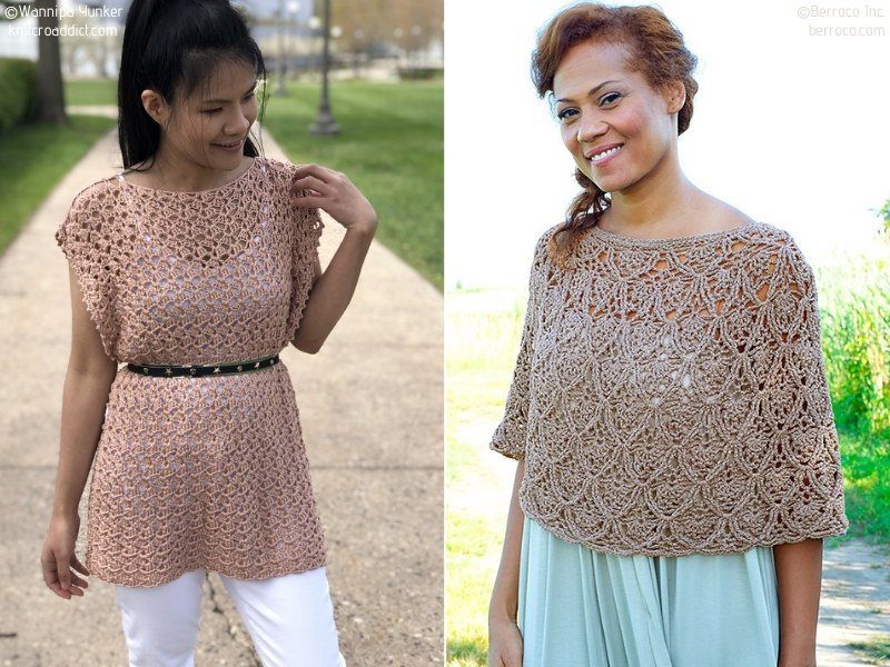 Crochet Ponchos For Spring
