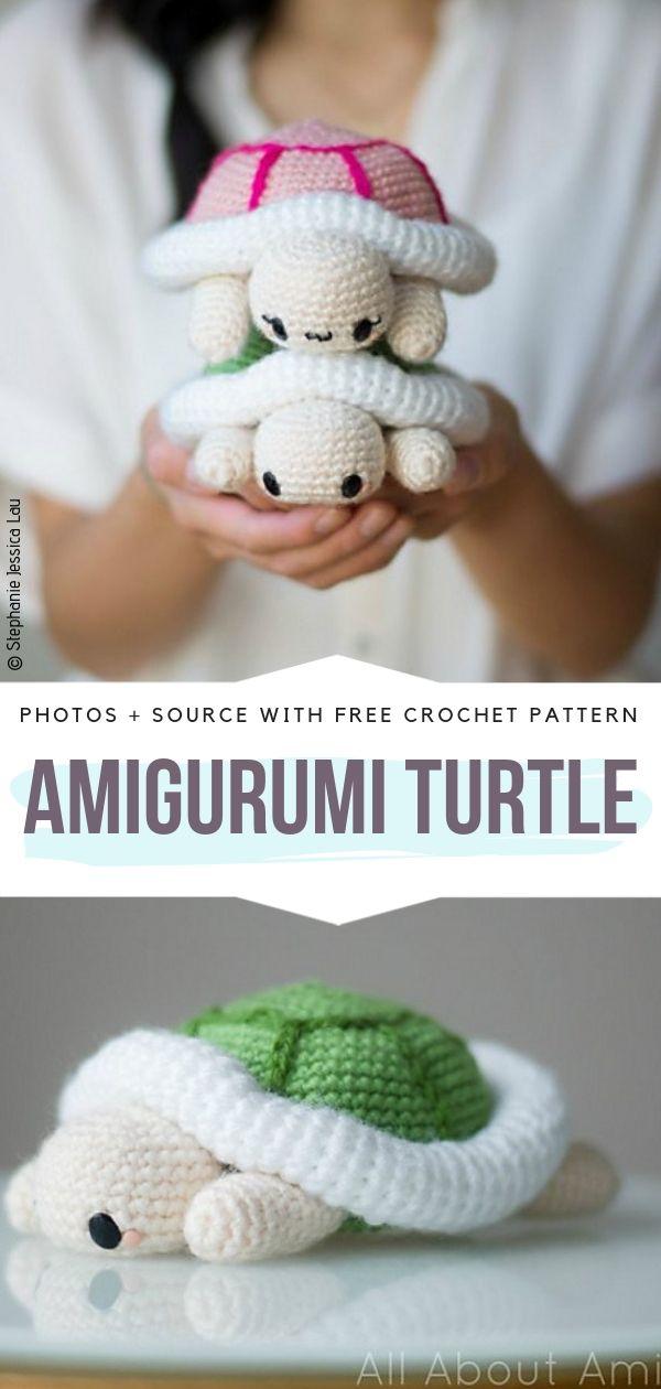 Amigurumi Turtle Free Crochet Pattern