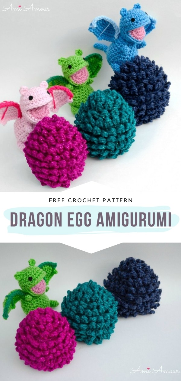 Magical Amigurumi Dragons With Free Crochet Patterns