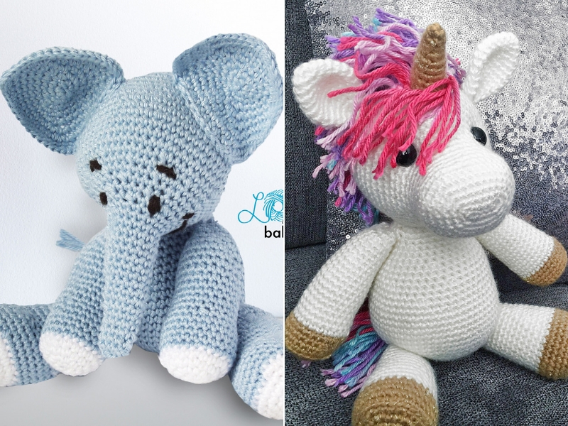 Cuddly Amigurumi Animals Free Crochet Patterns