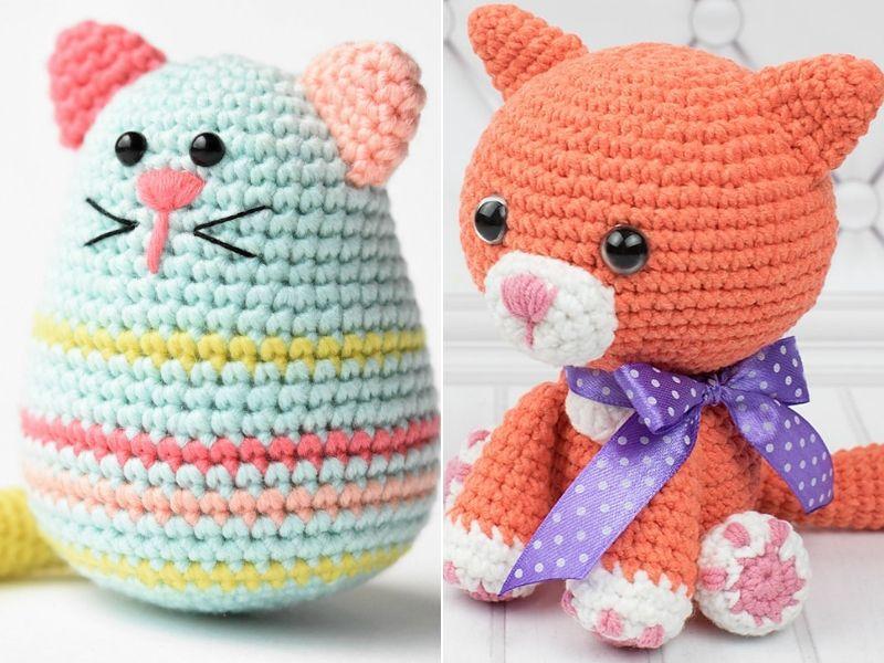 Cute Amigurumi Kitties Free Crochet Patterns