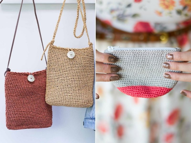 Easy To Make Crochet Pouches Free Patterns