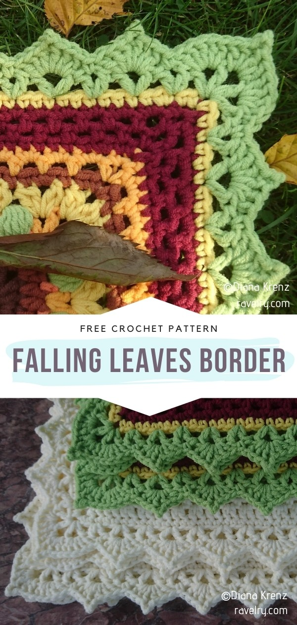 Stunning Crochet Blanket Edgings With Free Patterns