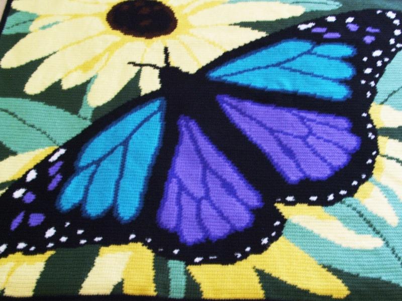 Fantastic Butterfly Blankets Free Crochet Patterns