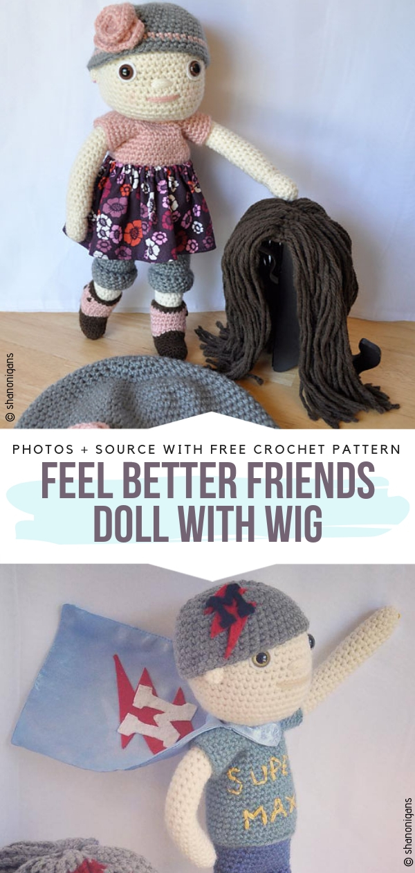 Doll with Wig
