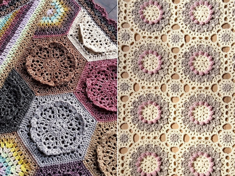 Flowery CALs For Spring Free Crochet Patterns