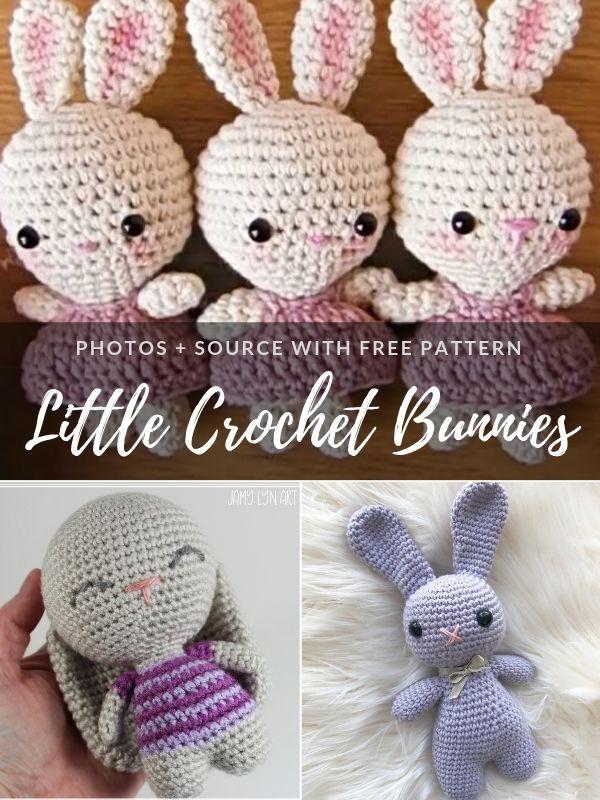 Little Crochet Bunnies Free Patterns