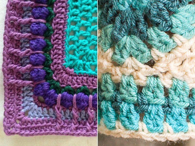 Stunning Crochet Blanket Edgings Free Patterns