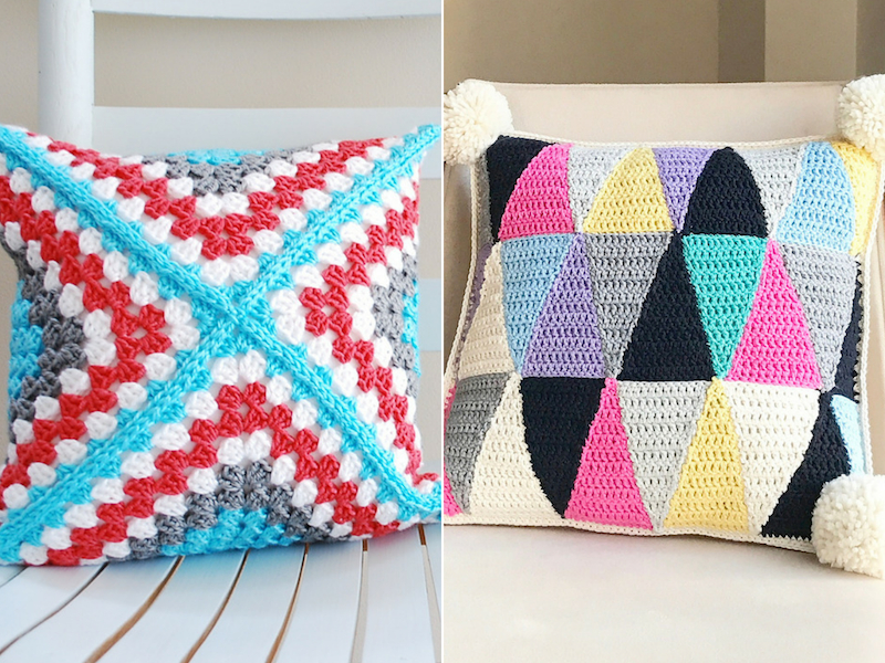 Stunning Crochet Cushions Free Patterns