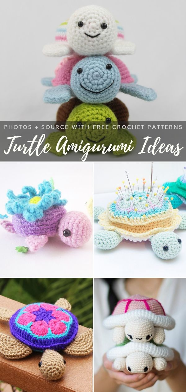 Turtle Amigurumi Ideas Free Crochet Patterns