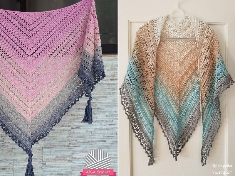Shawls Crocheted