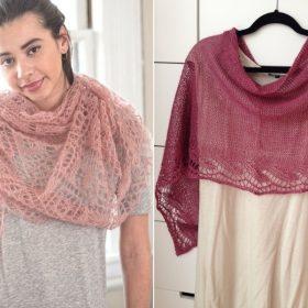 Stunning Lace Wraps Free Knitting Patterns
