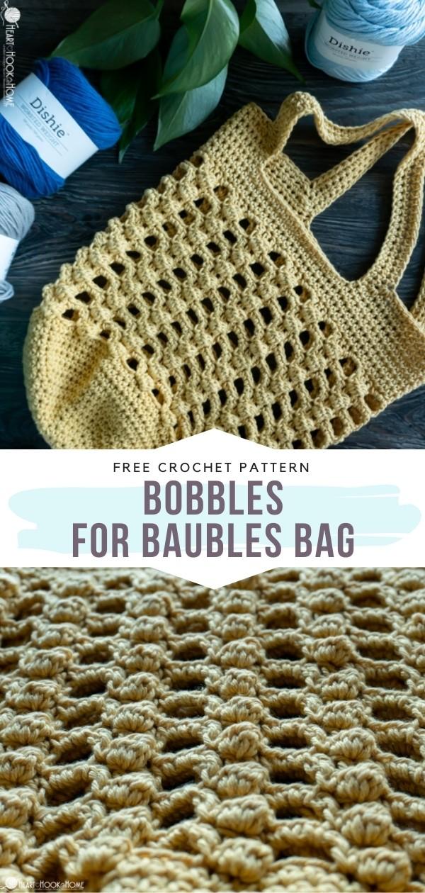 Crochet Bobbles Bag