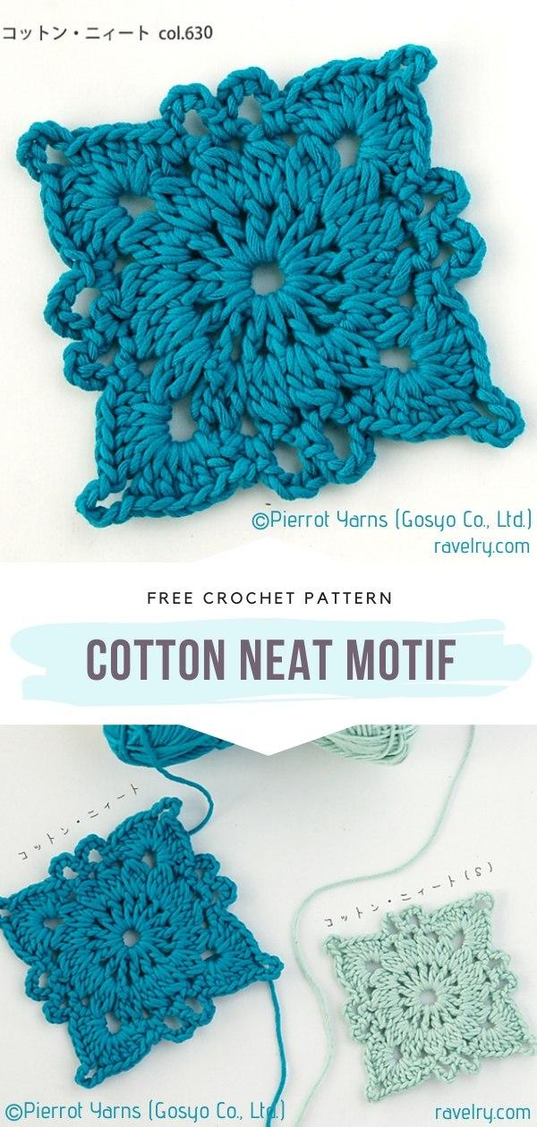 Crochet Cotton Neat Motif