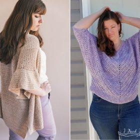 Feminine Crochet Sweaters Free Patterns