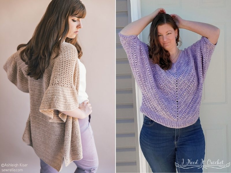Feminine Crochet Sweaters