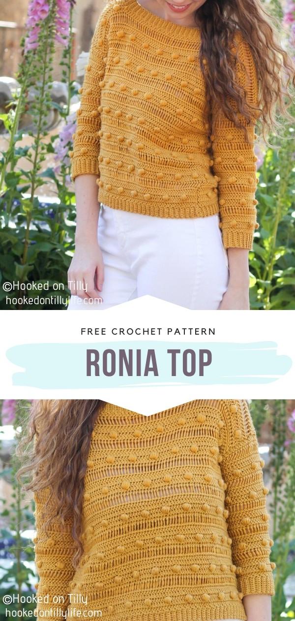 Ronia Crochet Top