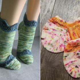 Short Summer Socks Free Knitting Patterns