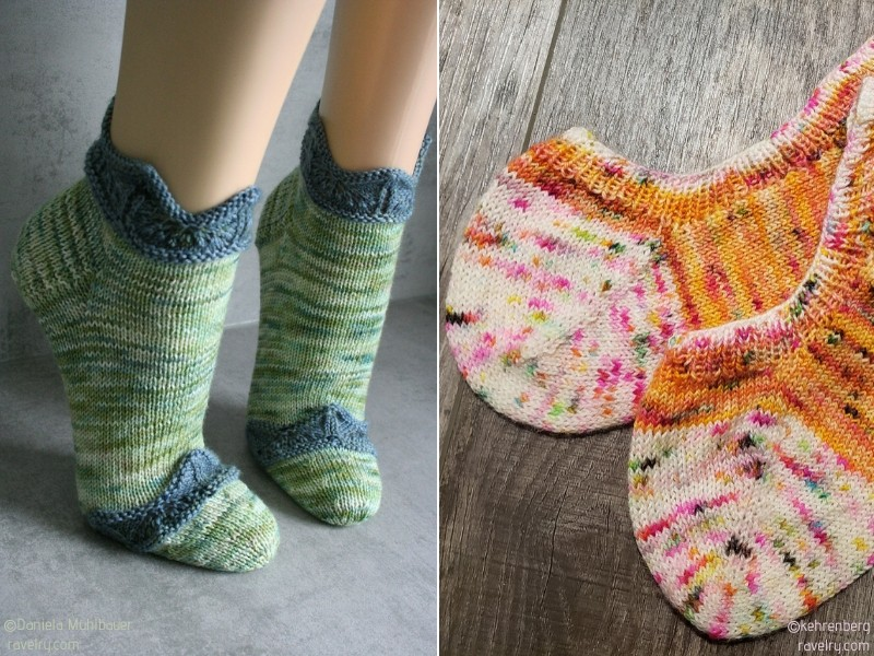 Short Summer Knit Socks