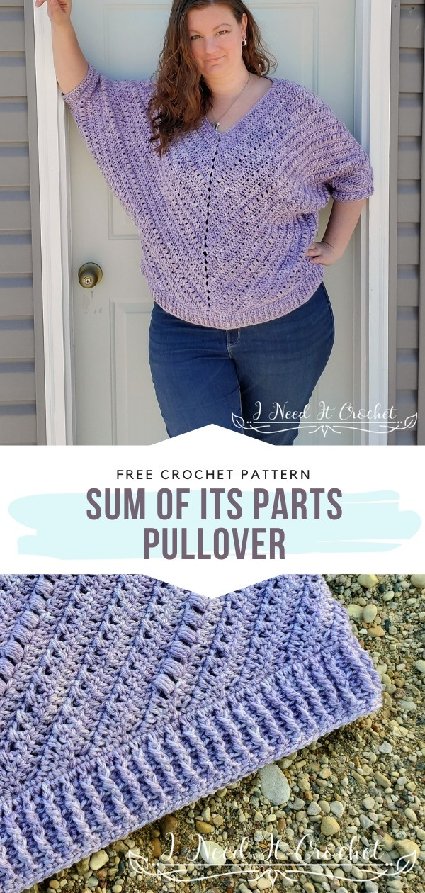 Sum Of Its Parts Crochet Pullover