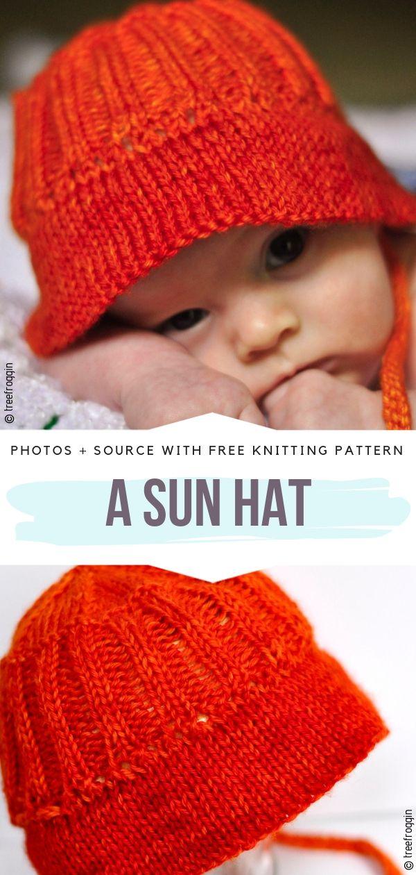 A Sun Hat Free Knitting Pattern