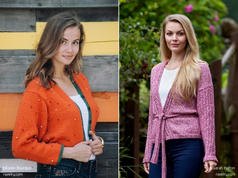 Soft Knitted Cardigans with Free Patterns