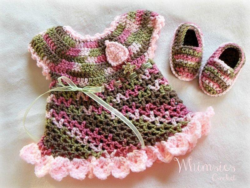 Baby Dress Set Ideas Free Crochet Patterns