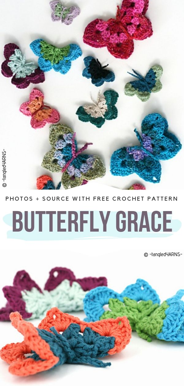 Butterfly Grace Free Crochet Pattern