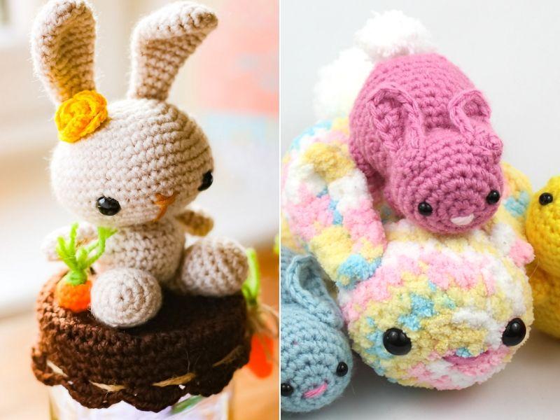 Cute Crochet Bunnies Free Patterns