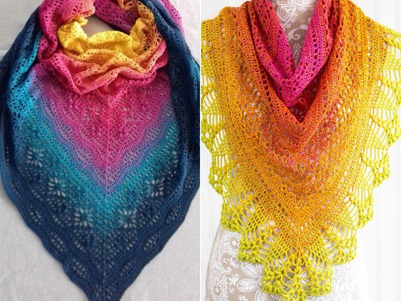 Dazzling Crochet Shawls Free Patterns