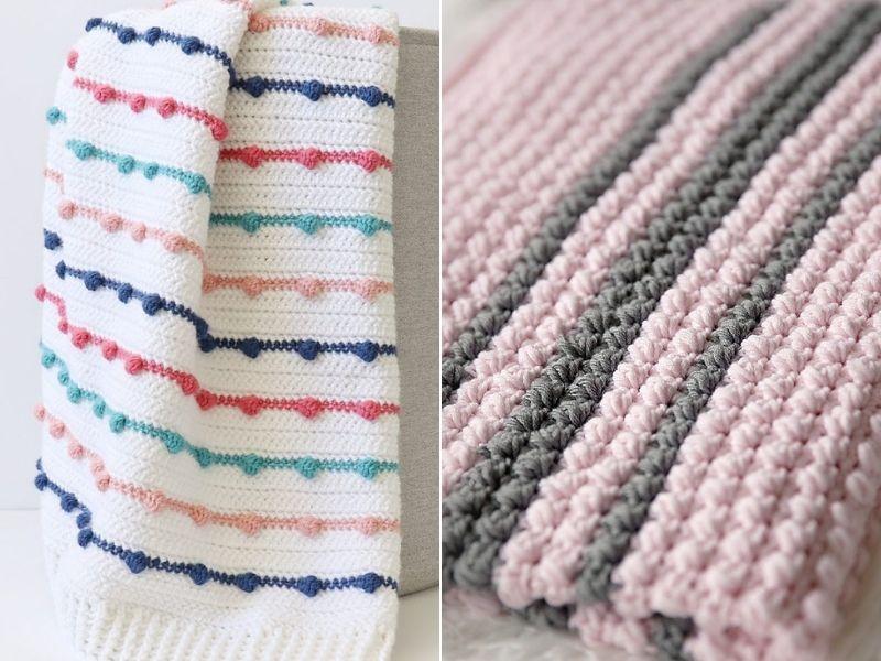 Delightful Bobble Blankets Free Crochet Patterns
